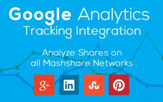 Mashshare Google Analytics Integration