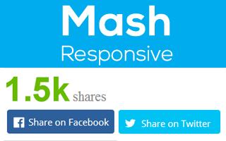 Mashshare Responsive Add-on