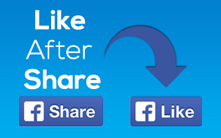 LikeAfterShare Add-On