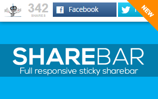 Social Sharing SHAREBAR
